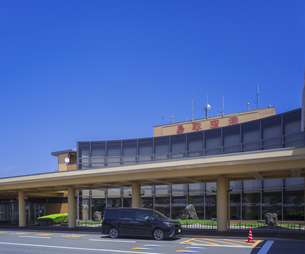 鳥取県 風景 鳥取砂丘コナン空港の写真素材 [FYI04633538]