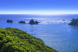 南さつま海道八景 丸木崎展望所から眺望の写真素材 [FYI04633606]