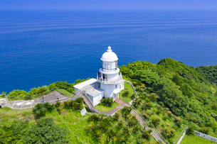 都井岬灯台の写真素材 [FYI04633618]