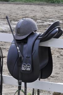 乗馬用品のイメージの写真素材 [FYI04633821]