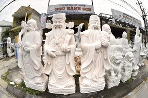 大理石彫刻 マーブルマウンテンの写真素材 [FYI04633913]