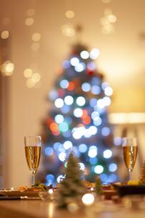 クリスマスディナーの写真素材 [FYI04633990]
