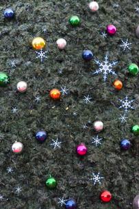 クリスマスのオブジェの写真素材 [FYI04634050]