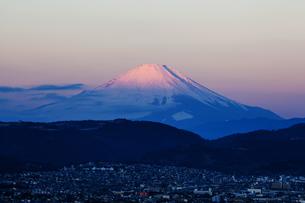 弘法山公園から見た富士山の写真素材 [FYI04634077]