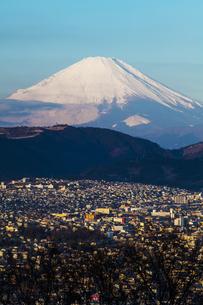 弘法山公園から見た富士山の写真素材 [FYI04634085]