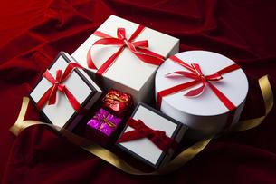 プレゼントボックスの写真素材 [FYI04634113]