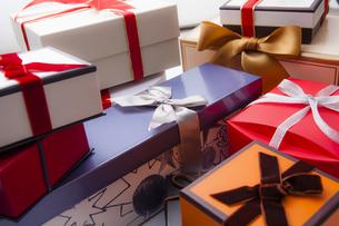 プレゼントボックスの写真素材 [FYI04634121]