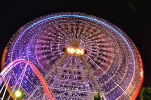 横浜みなとみらいの夜景の写真素材 [FYI04634272]