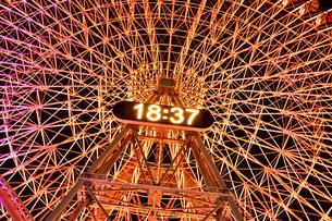横浜みなとみらいの夜景の写真素材 [FYI04634273]