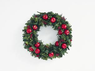 クリスマスリースの写真素材 [FYI04634393]