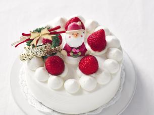 クリスマスケーキの写真素材 [FYI04634399]