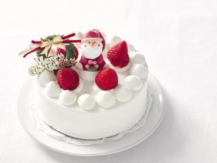 クリスマスケーキの写真素材 [FYI04634410]