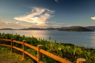 【香川県 さぬき市】大串自然公園から見る瀬戸内海の自然風景の写真素材 [FYI04634526]