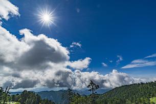 奈良県 大台ヶ原の風景の写真素材 [FYI04634831]