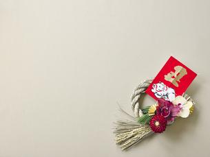 しめ縄飾りの写真素材 [FYI04634922]