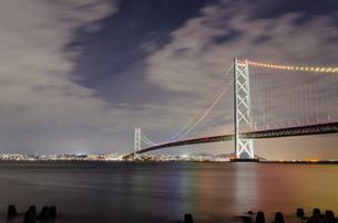 明石海峡大橋の写真素材 [FYI04635043]