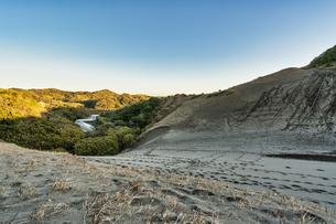 館山砂丘 砂山の写真素材 [FYI04635302]