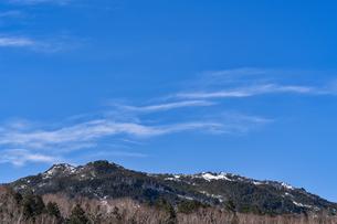 北八ヶ岳の山並みの写真素材 [FYI04635344]