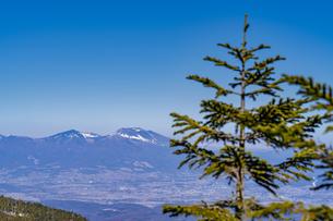 浅間山を望むの写真素材 [FYI04635345]