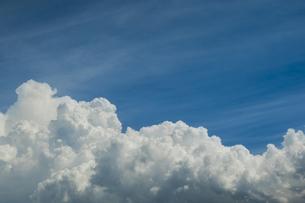 青空と積乱雲の写真素材 [FYI04635591]