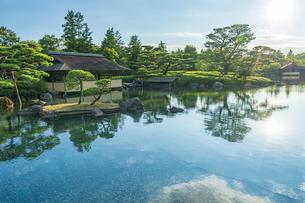 昭和記念公園の美しい日本庭園の写真素材 [FYI04635840]