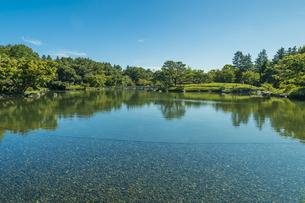 昭和記念公園の美しい日本庭園の写真素材 [FYI04635843]