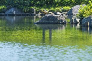 昭和記念公園の美しい日本庭園の写真素材 [FYI04635850]