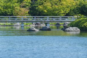 昭和記念公園の美しい日本庭園の写真素材 [FYI04635851]