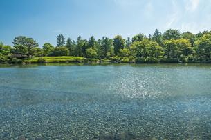 昭和記念公園の美しい日本庭園の写真素材 [FYI04635853]