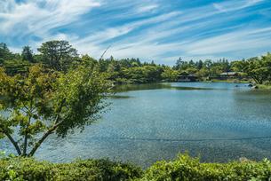 昭和記念公園の美しい日本庭園の写真素材 [FYI04635856]