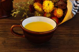 かぼちゃスープの写真素材 [FYI04635865]