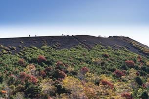 福島吾妻小富士の紅葉の写真素材 [FYI04635872]