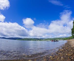 北海道 自然 風景 洞爺湖の写真素材 [FYI04635958]