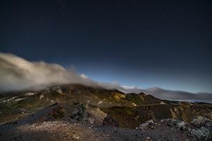 磐梯吾妻小富士夜の風景の写真素材 [FYI04635984]