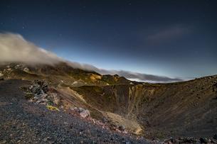 磐梯吾妻小富士夜の風景の写真素材 [FYI04635985]