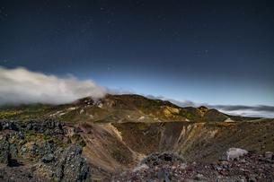 磐梯吾妻小富士夜の風景の写真素材 [FYI04635986]