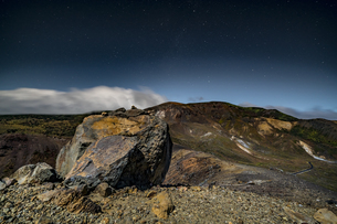 磐梯吾妻小富士夜の風景の写真素材 [FYI04635993]