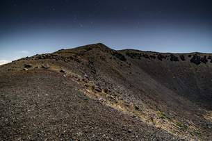 磐梯吾妻小富士の夜の風景の写真素材 [FYI04636002]