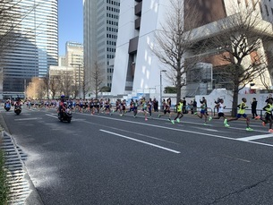 マラソンの写真素材 [FYI04636111]