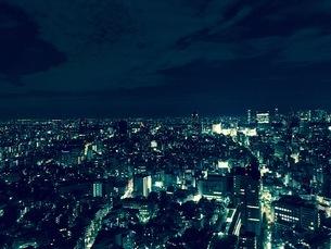 東京の夜景の写真素材 [FYI04636125]