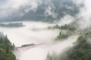 第一只見川橋梁の写真素材 [FYI04638678]
