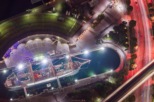 横浜ランドマークタワーの写真素材 [FYI04638692]