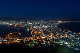 北海道、函館山からの夜景の写真素材 [FYI04639232]