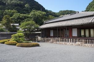仙巌園 旧島津家住宅の写真素材 [FYI04639235]