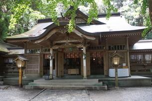 高千穂の風景 高千穂神社の写真素材 [FYI04639259]