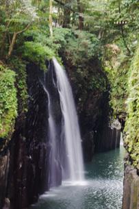 高千穂峡の風景 真名井の滝の写真素材 [FYI04639268]