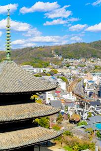 広島県 尾道市の町並みの写真素材 [FYI04639349]