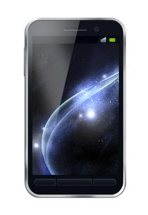 スマートフォンイメージのイラスト素材 [FYI04639425]
