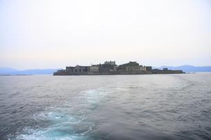 世界遺産 軍艦島の写真素材 [FYI04640031]