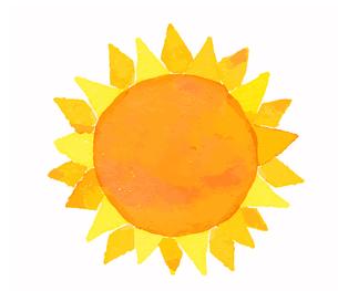 太陽のイラスト素材 [FYI04640099]